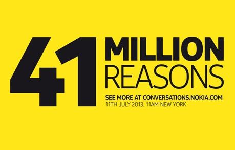 نوکیا معرفی موبایل ۴۱ مگا پیکسل در ۱۱ جولای (۲۰ تیر) را تأیید کرد