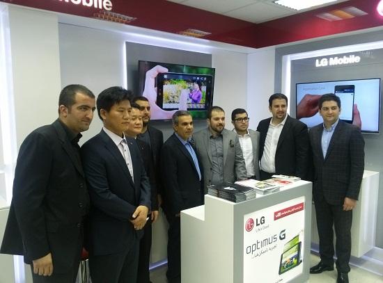 میلاد حضرت قائم(عج)، پاساژ قائم (عج) و افتتاح اولین فروشگاه رسمی موبایل الجی در ایران