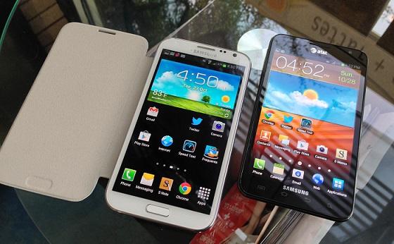 Galaxy Note 2 به جای اندروید 4.2 مستقیما اندورید 4.3 را دریافت می کند