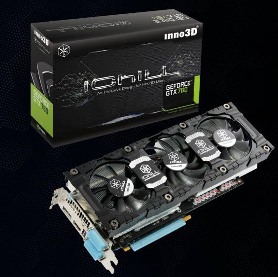 Inno3D از چهارمین GTX 760 خود رونمایی کرد