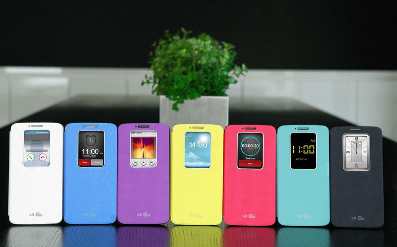 QuickWindow با 7 رنگ مختلف برای LG G2 معرفی شد