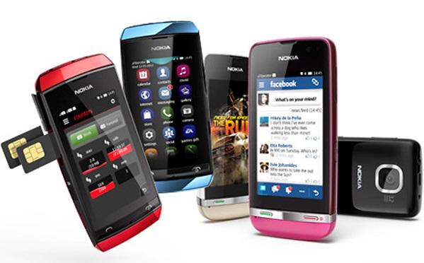 ارائه به روز رسانی برای گوشی های Asha از طرف نوکیا