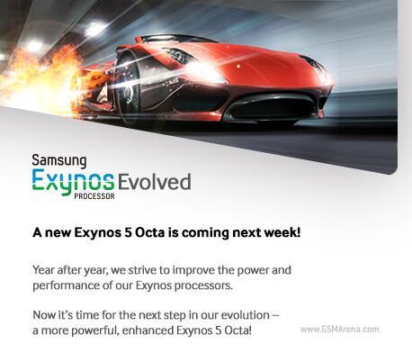 Exynos 5 Octa جدید در راه گالاکسی نوت