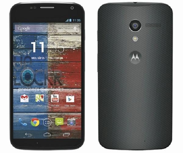 تصویر و مشخصات Motorola X لیک شد