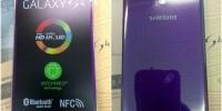 تصاویر Samsung Galaxy S4 بنفش رنگ!