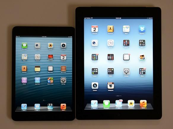 اپل ممکن است نسل بعدی iPad mini را با صفحه نمایش Retina عرضه کند