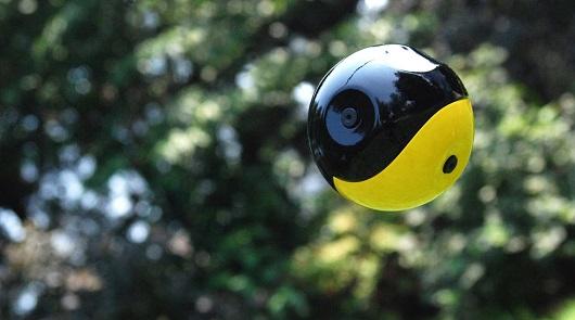 دوربین توپی پانوروما قابل پرتاب