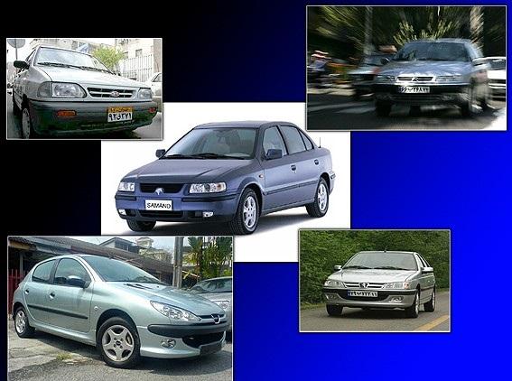 قیمت خودرو های تولید داخل (4 شهریور )