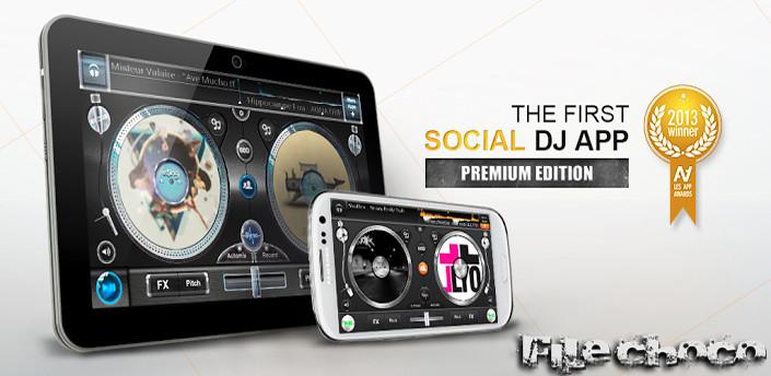 دانلود برنامه اندروید edjing PE – Turntables DJ Mix v2.0.0
