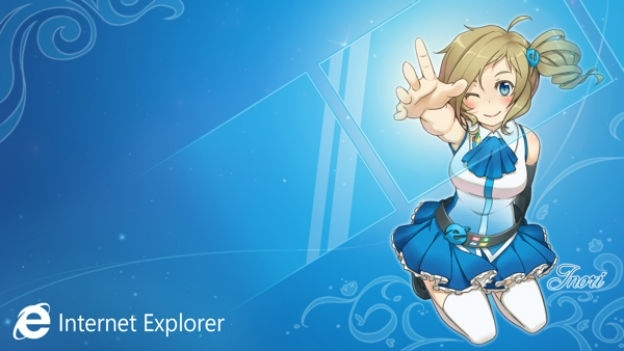 xl_Internet Explorer anime
