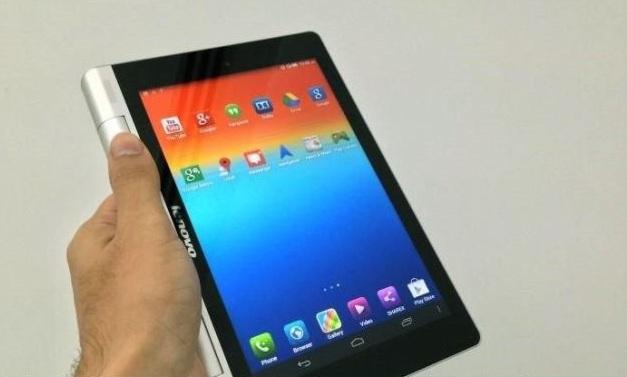 معرفی تبلت جدید Lenovo:Yoga Tablet 8