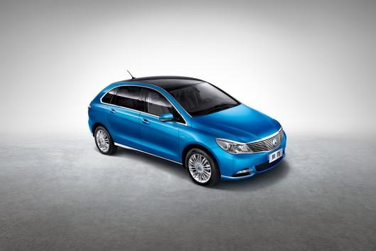 Denza خودروی تمام الکتریکی چینی معرفی شد