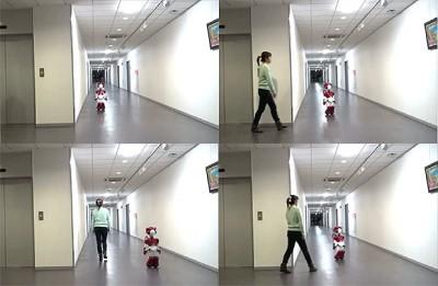 ربات  EMIEW 2 یک ربات کامل برای کمک به کارمندان هر اداره ای