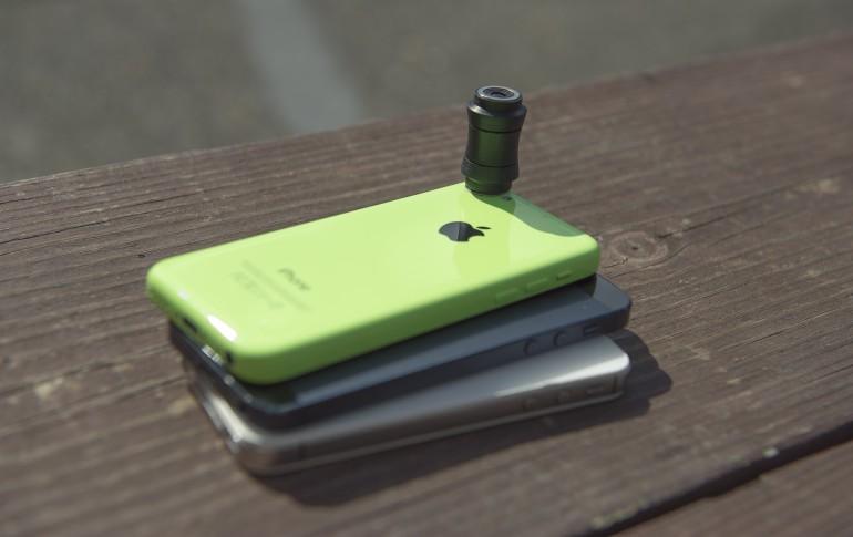لنز تمرکزی برای استفاده با iphone