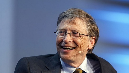 تصویری از بیل گیتس ثروت مند ترین مرد جهان