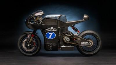 موتور سیکلت الکتریکی تمام کربنی Sarolea SP7