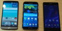 مقایسه 3 غول برتر دنیای تلفن های هوشمند !