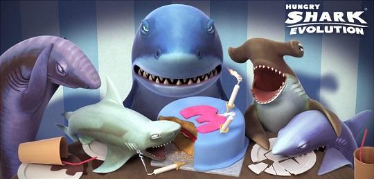 دانلود ورژن جدید بازی زیبای Hungry Shark Evolution برای اندروید