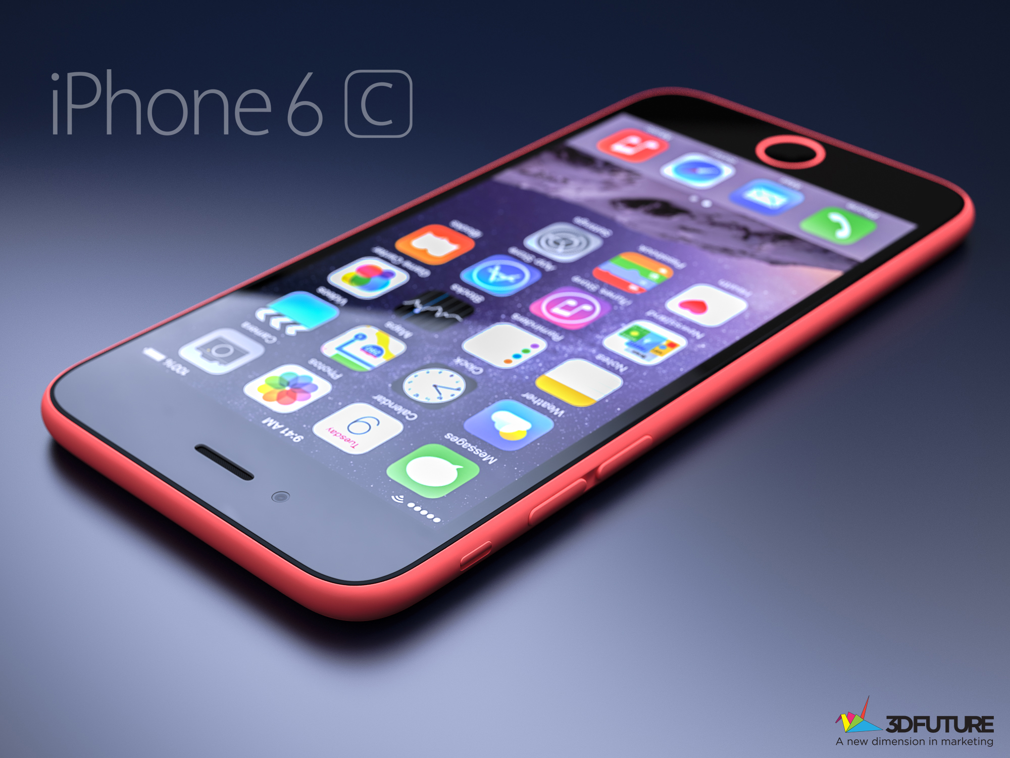 Artists-conceptual-rendition-of-the-Apple-iPhone-6c