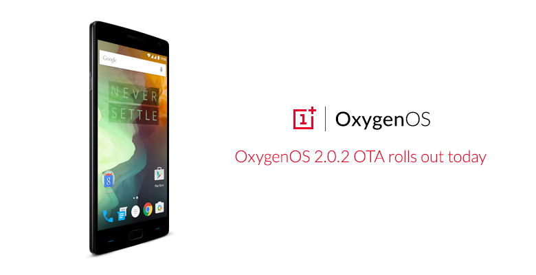 OnePlus 2 update 2.0.2