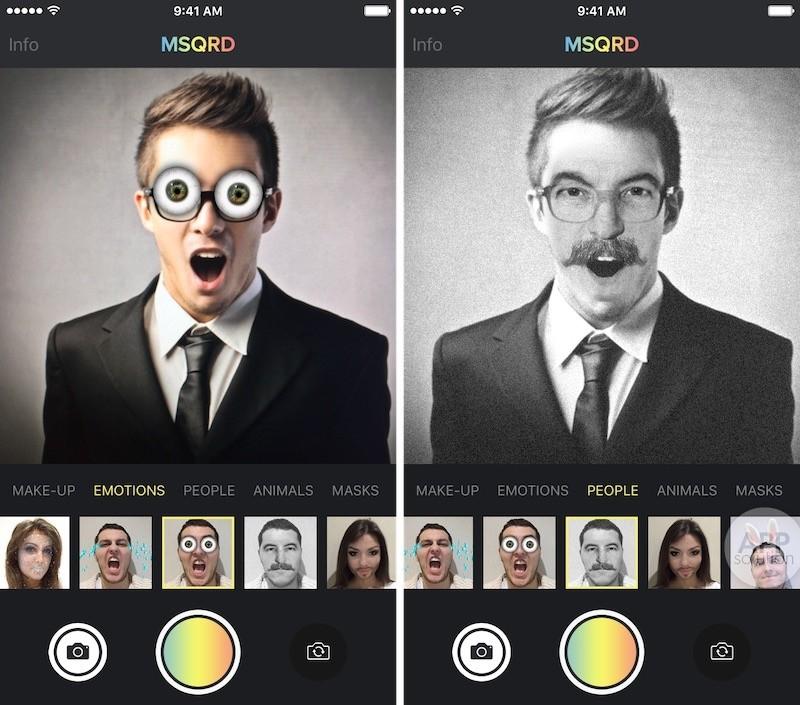 Маскарад приложение для фото на ноутбук
