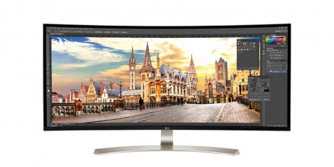 lg wide monitors