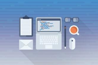 تصویری از میز کار یک برنامهنویس