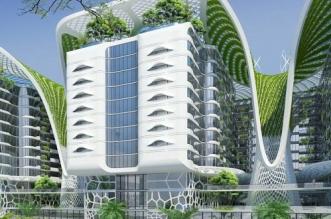futuristic apartments