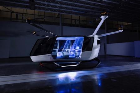 Skai خودروی پرندهی چند منظوره با سوخت هیدروژن