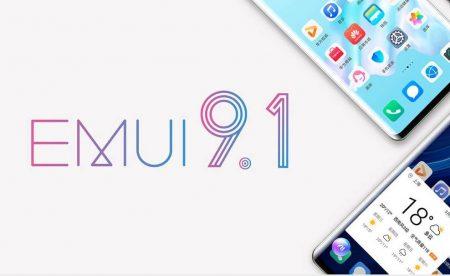 تاریخ انتشار EMUI 9.1 برای برخی گوشیهای هوآوی
