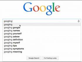 نتایج جستجوی گوگل