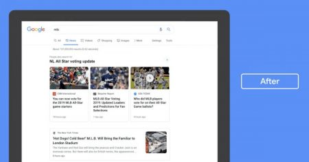 بخش اخبار جستجو گوگل آپدیت میشود