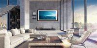 نسخه لاکچری از تلویزیونهای دیواری سامسونگ