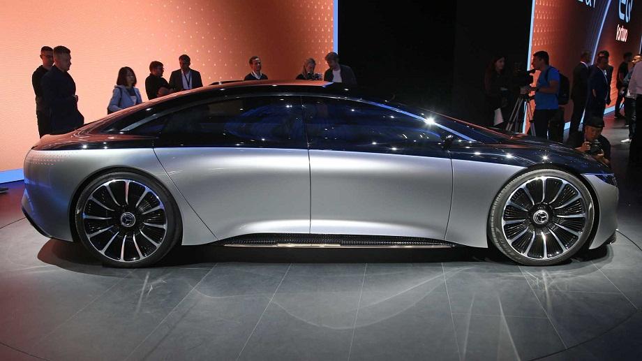 خودروی مرسدس بنز Vision EQS
