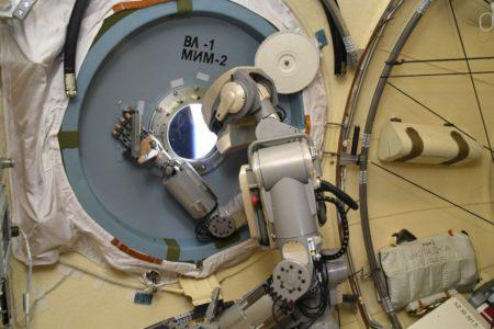 ربات فضایی