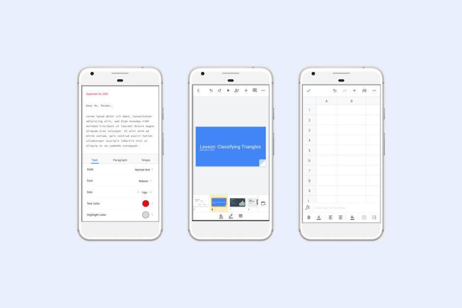 طراحی نسخه اندرویدی اپلیکیشنهای اختصاصی گوگل تغییر کرد