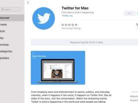 توییتر یک نرمافزار کاملا جدید برای سیستمعامل مک ارائه داد