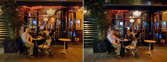 عکاسی در محیط بسته - سمت چپ ۷تی و سمت راست پیکسل ۳