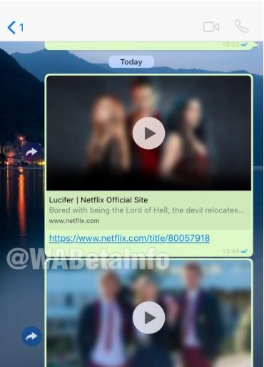 نسخهی iOS واتساپ هماکنون میتواند ویدئوهای نتفلیکس را پخش نماید