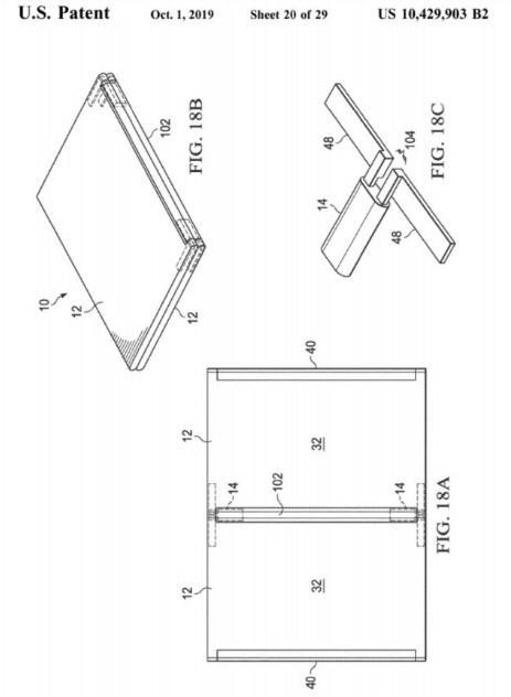 پتنت لپتاپهای قابل انعطاف توسط کمپانی دل ثبت شد