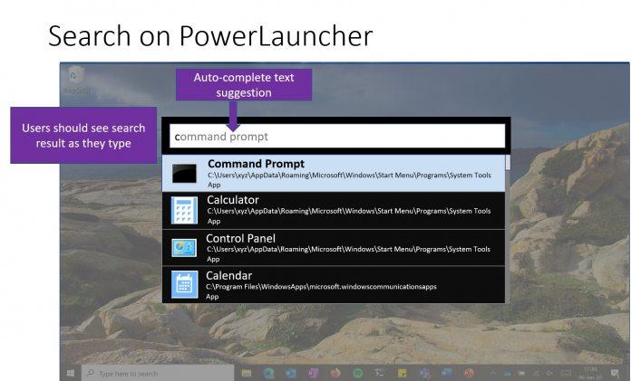 مایکروسافت یک پاور لانچر جدید (PowerToy) معرفی کرد