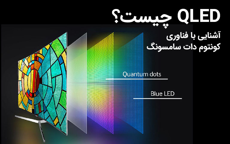 فناوری QLED چیست؟ آشنایی با پنلهای کوانتوم دات سامسونگ
