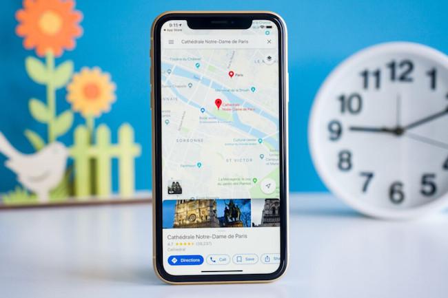 اپلیکیشن Google Map