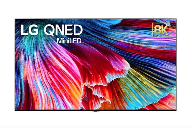 تلویزیونهای QNED شرکت LG
