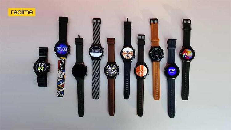 تصویر رسمی از ساعت هوشمند ریلمی واچ S پرو