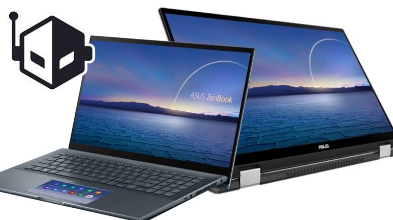 The ZenBook Pro 15 and ZenBook Flip 15