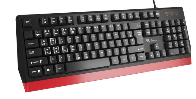 Genesis Rhod 250 Gaming Keyboard