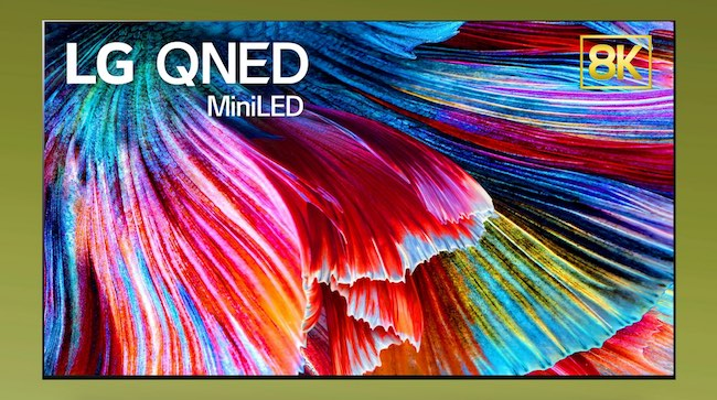 LG QNED TV Mini LED