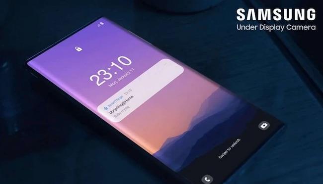 Samsung Under Screen Camera