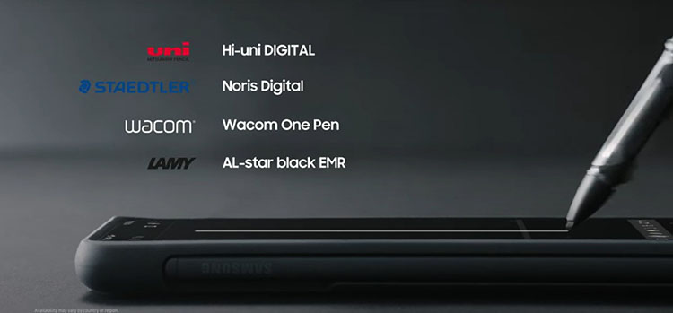 ویژگیهای قلم S Pen و S Pen Pro